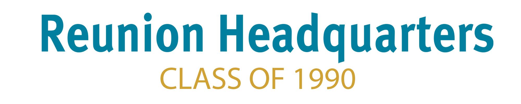 Class of 1990 Header